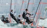 世界青年健儿扬帆三亚 中国队帆板项目旗开得胜