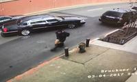 美国一嫌犯逃跑途中因裤子掉被绊倒再次被捕
