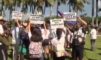 佛州爆发反特朗普抗议 民众呼吁即刻弹劾特朗普