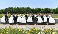 不要彩礼、不铺张浪费 宿迁举行简约唯美集体婚礼